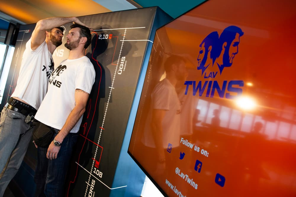 """Tallest basketball twins"" from Europe cause NBA fan outrage"