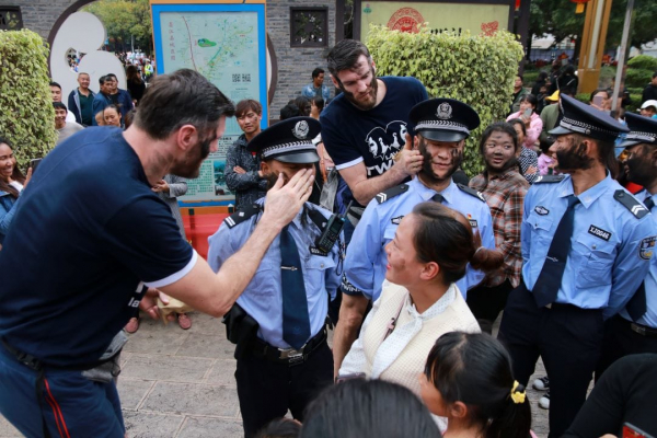 lavtwins blackface parade in china